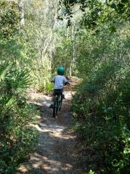 Shael on 7/10 Trail
